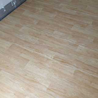 Vinyl floor and cladding